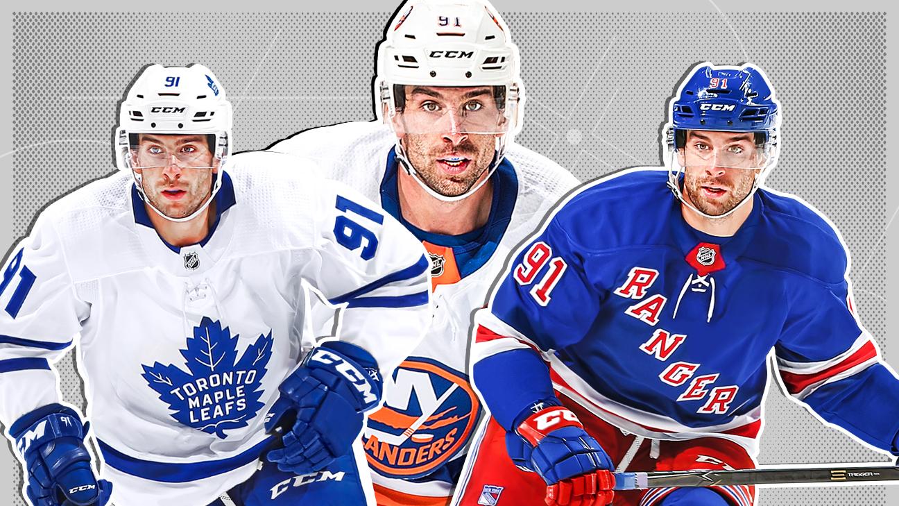 watch 5213d 732f4 NHL - Eight teams New York Islanders center John Tavares ...