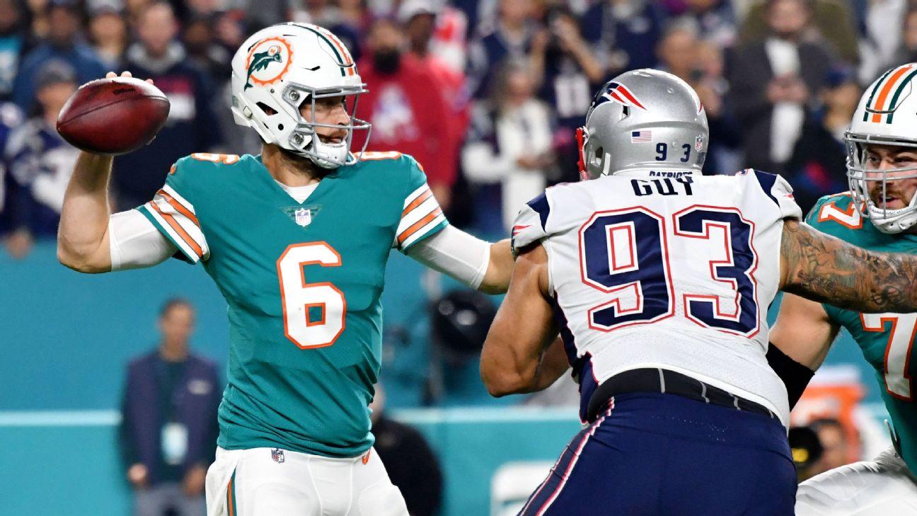 Jay Cutler, Miami Dolphins outshine Tom Brady, New England ...