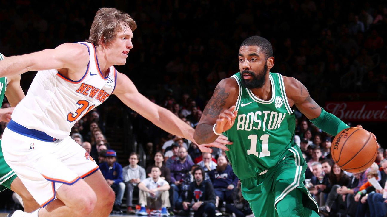 5d05400340f2 NBA draft trades we d like to see  Knicks land Kyrie Irving