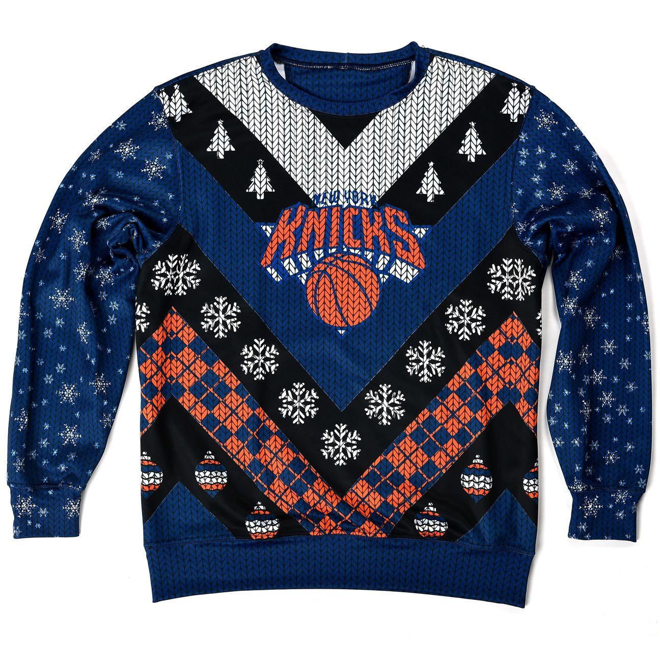 knicks ugly sweater