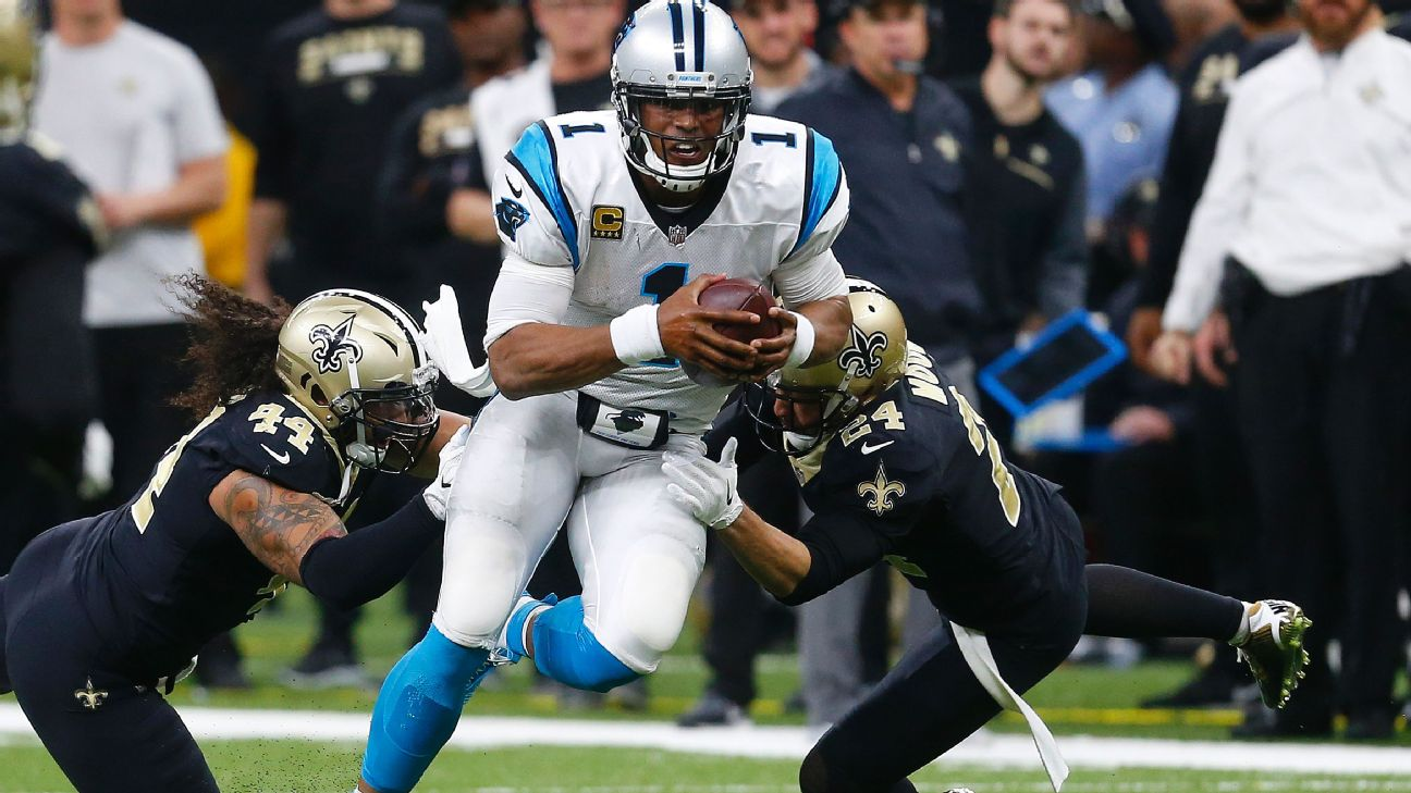 48c6ccc4 Cam Newton: 'Disrespectful' gift of a broom extra motivation to bea ...