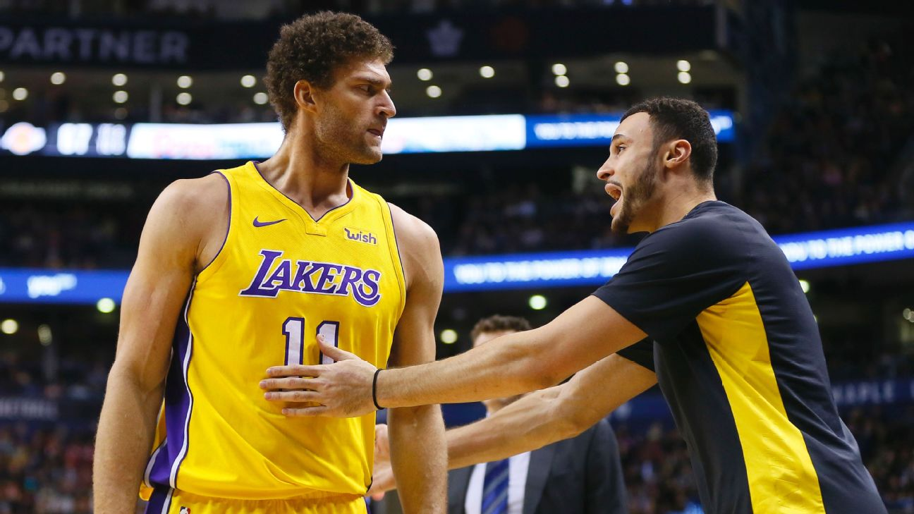 NBA -- Brook Lopez's frustrating season with Los Angeles Lakers ...
