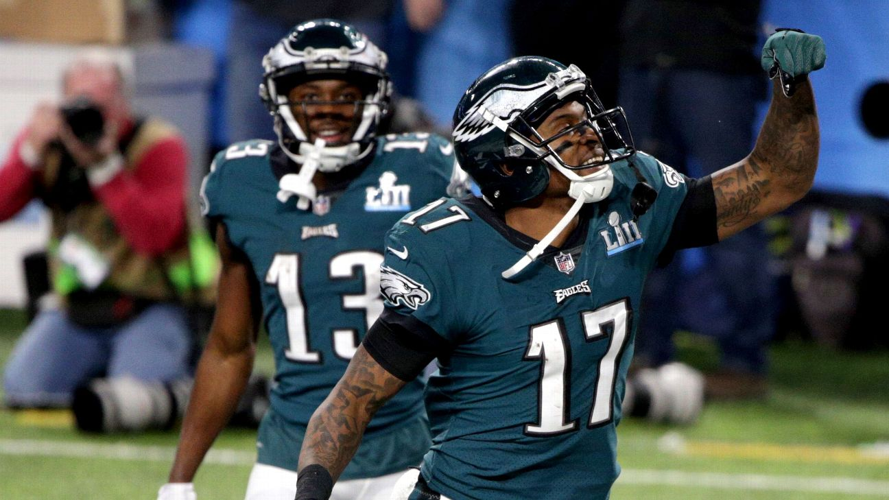 61c0f71d38c Eagles to activate WR Alshon Jeffery in hopes he plays in Week 3 ...