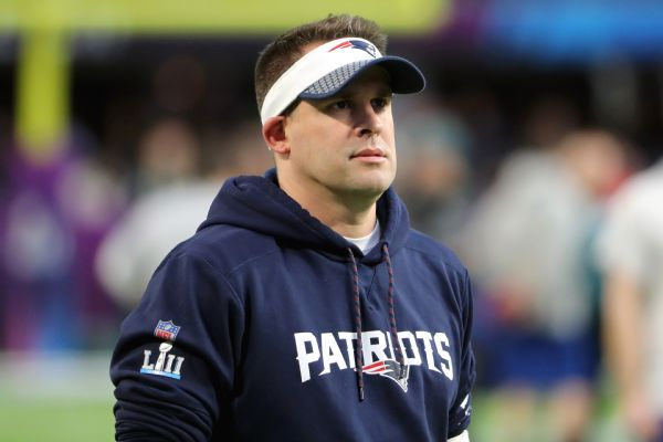 Image result for Josh McDaniels 600 x 400 AP Photo