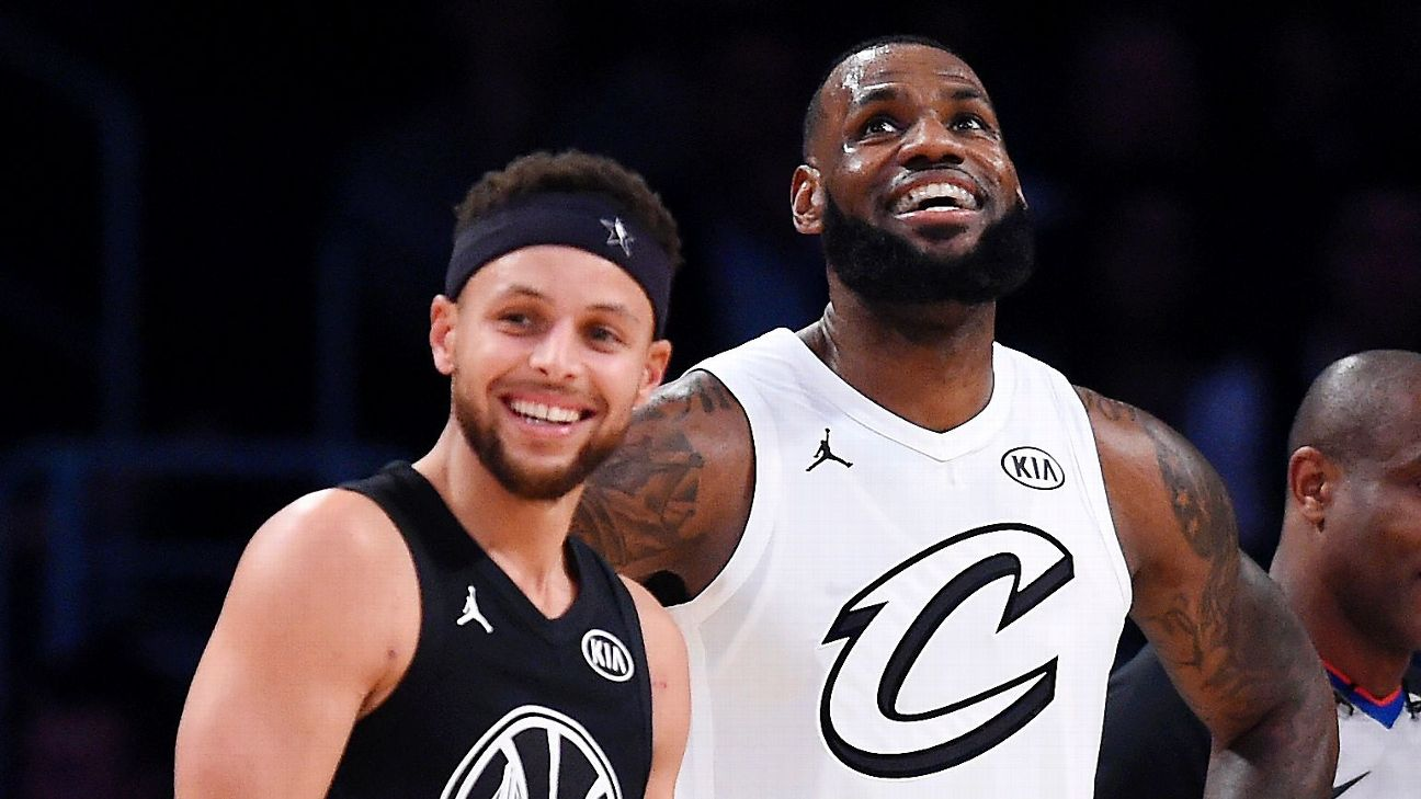 los angeles f9e0a ef76a LeBron James, Stephen Curry agree that next NBA champs won't ...