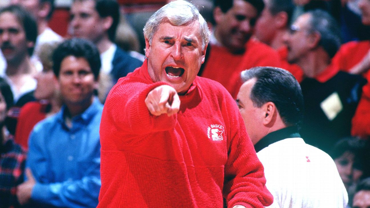 Bob Knight Indiana Hoosiers firing lesson for college coaches