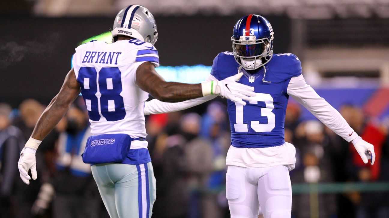 Dez Bryant Playing With Odell Beckham Jr Giants Would Be