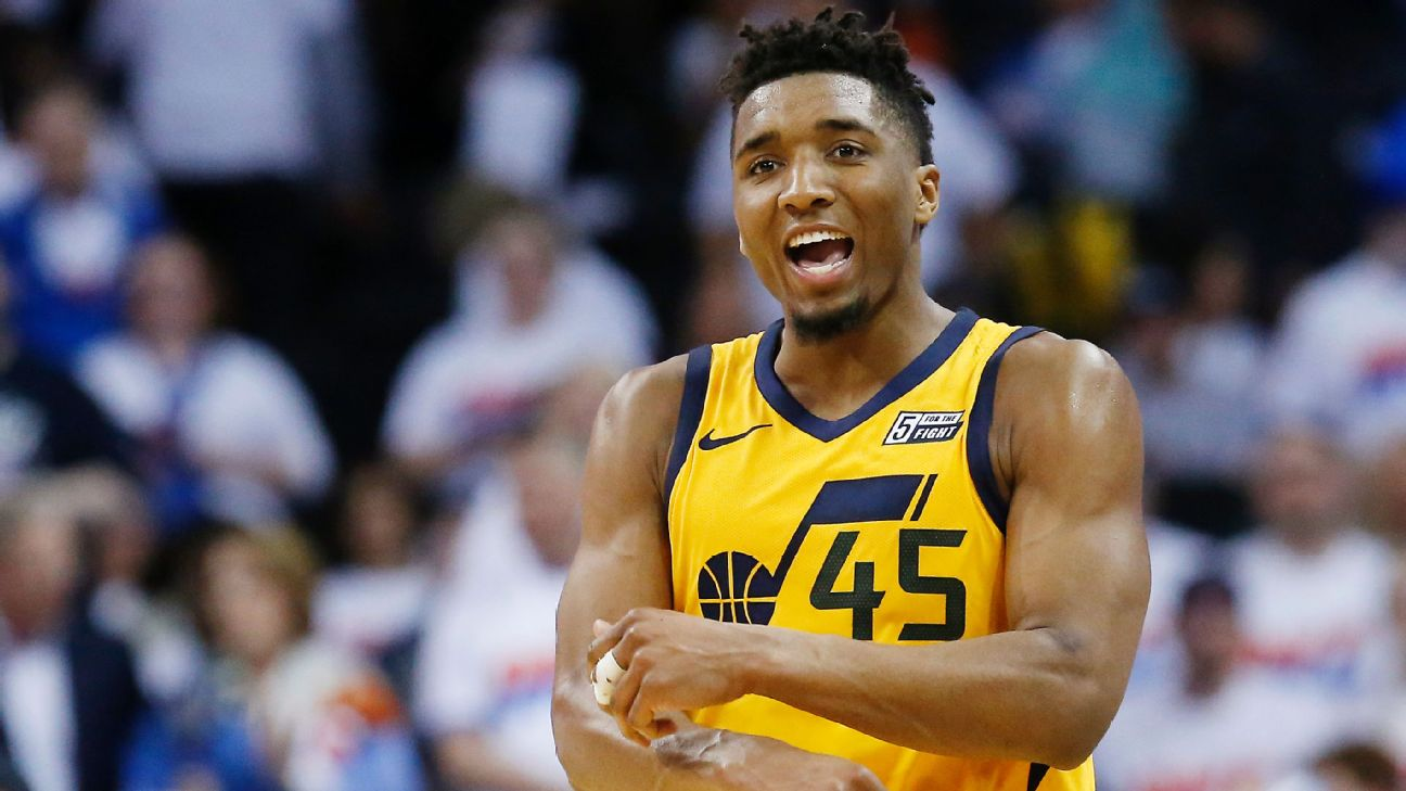 498bc177879 Donovan Mitchell on Ben Simmons  comeback from 1-point game   All a ...