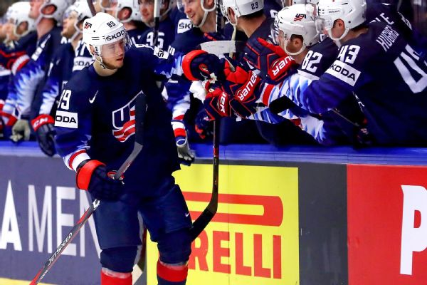 37a4c3fc601 U.S. upsets Canada  Russia also wins at worlds. Cam Atkinson ...