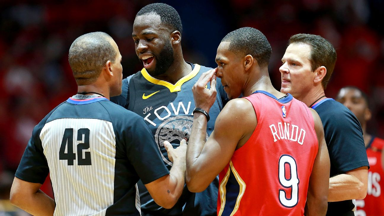 56901deff Draymond Green on encounters with Rajon Rondo   That s how you guard ...