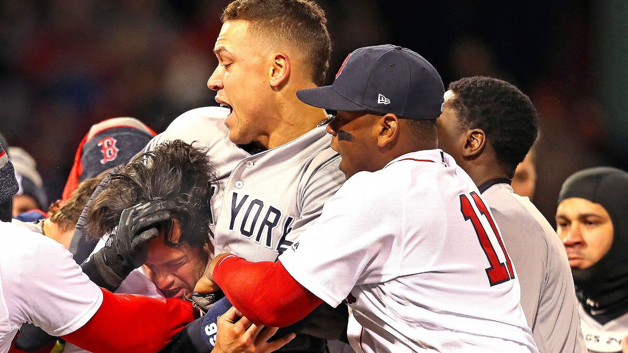 The brawl, Fortnite and now the ALDS: The story of Yanks-Sox