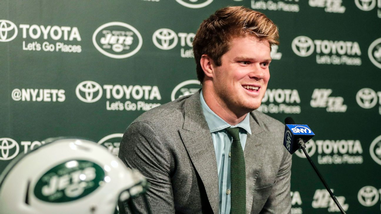 Sam Darnold Is Better Off A Jet Than A Giant Abc7ny Com