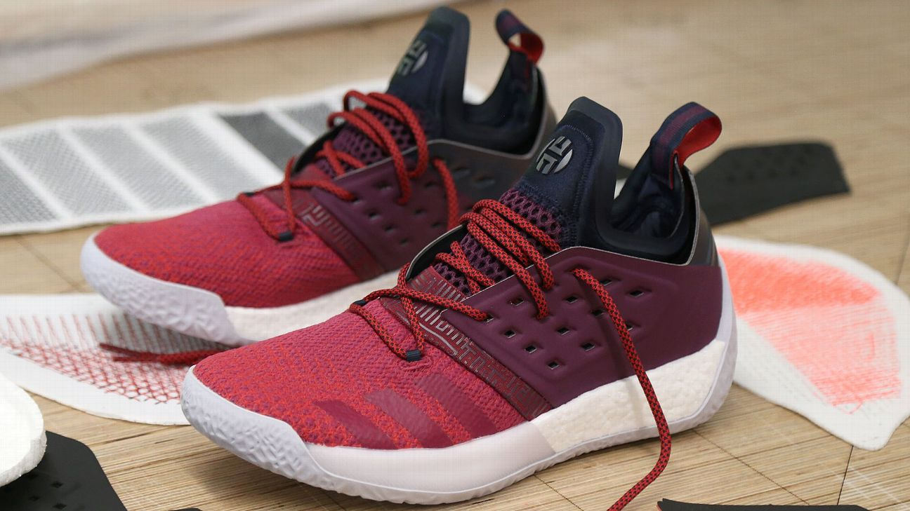 8a8e8cc003e3 How James Harden s sneakers have fueled his MVP season