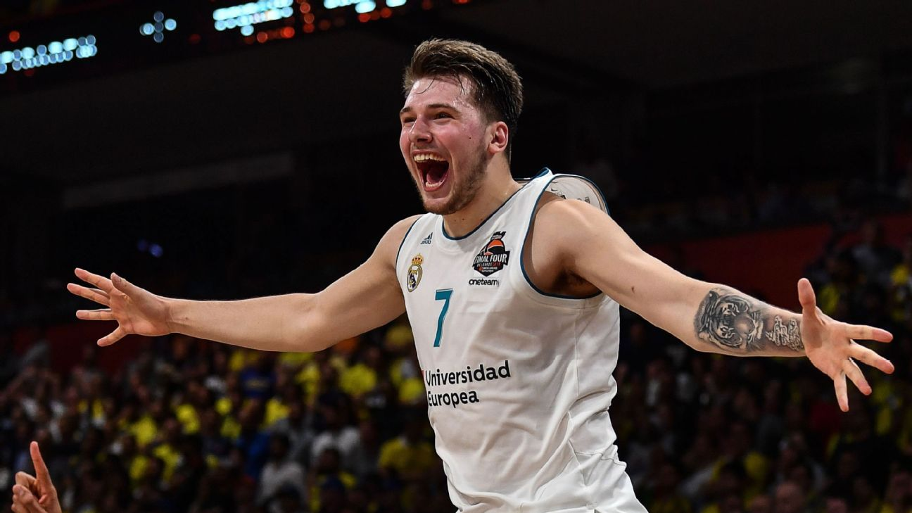 b015f9cfcc3 Luka Doncic leads Real Madrid to Euroleague title
