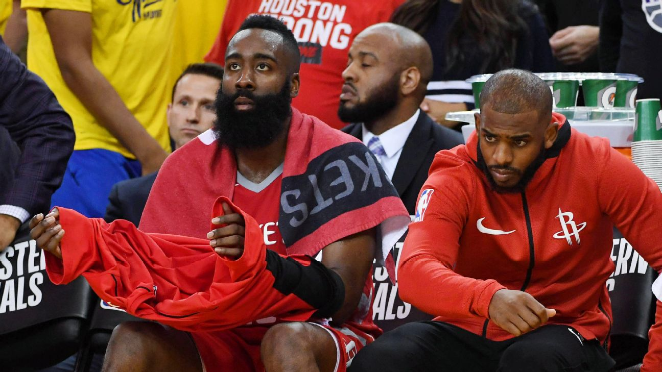 on sale fdef5 d9051 James Harden says 'there's no pressure' on Rockets, calls ...