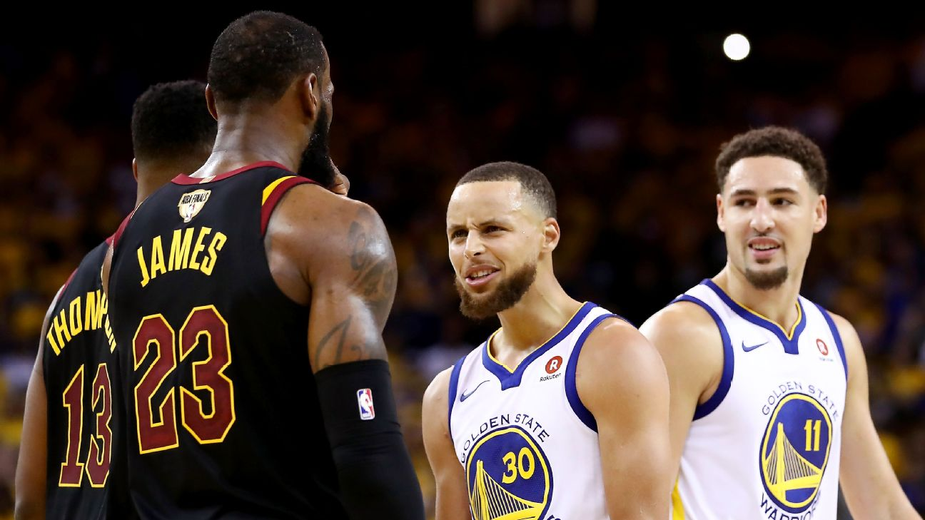 637dfe36a4f What the Warriors are doing to the Cavs is just mean