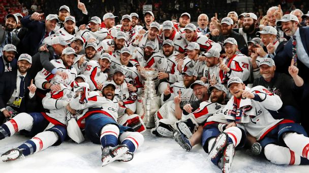 a873dd6d3c3 2018 Stanley Cup Final - Alex Ovechkin and the Washington Capitals ...