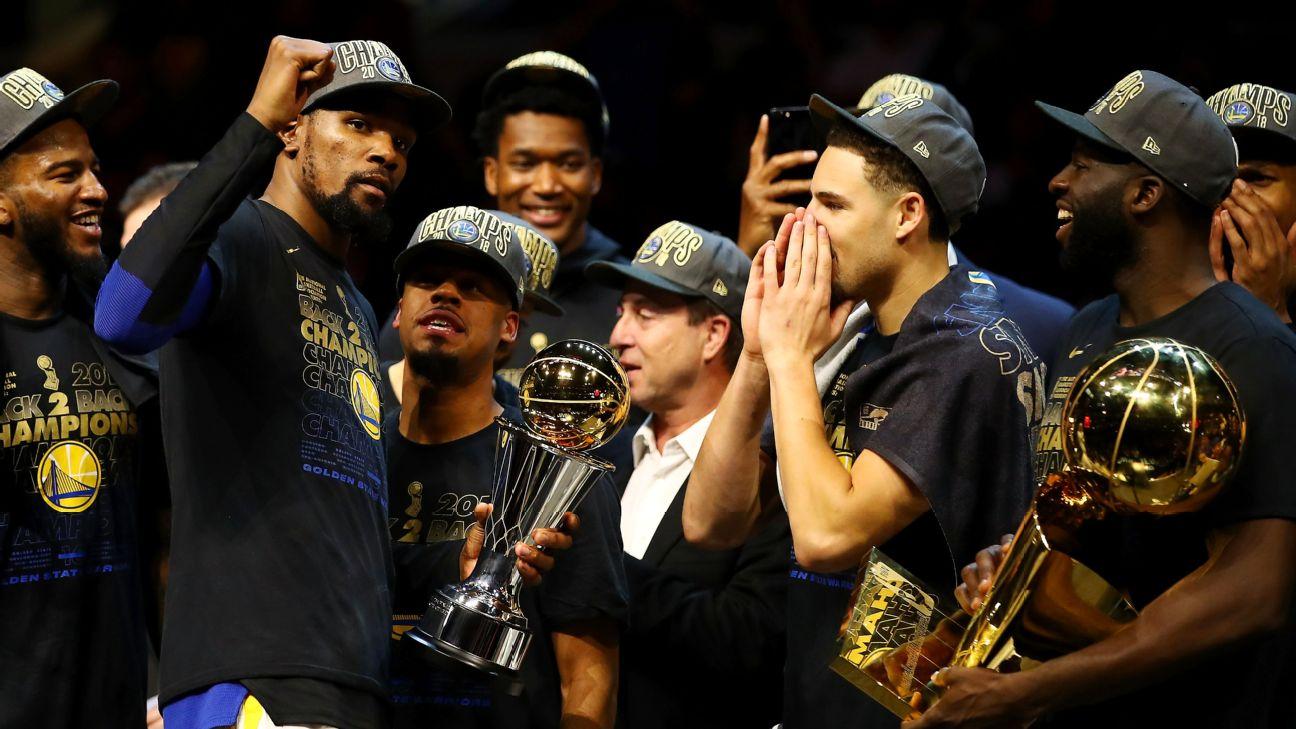 13ede16d956f Kevin Durant named NBA Finals MVP