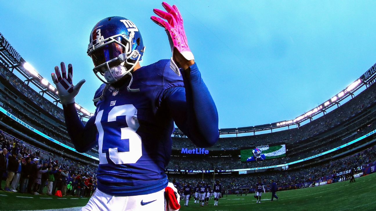 a11d68d3bb3d Odell Beckham Jr. relieved to have contract done