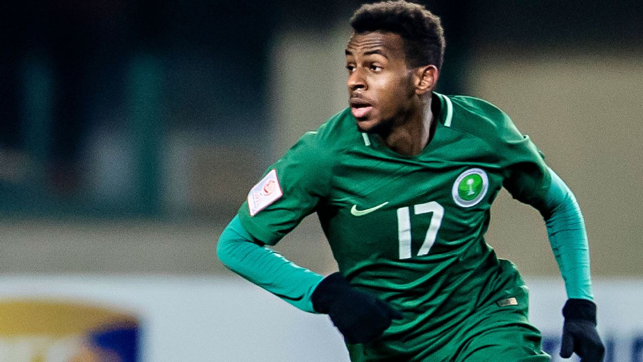 99df3b9be A surprise addition to the Saudi side, Al-Khaibari has just four senior  caps in friendlies to his name. The 21-year-old has started 15 times this  season for ...