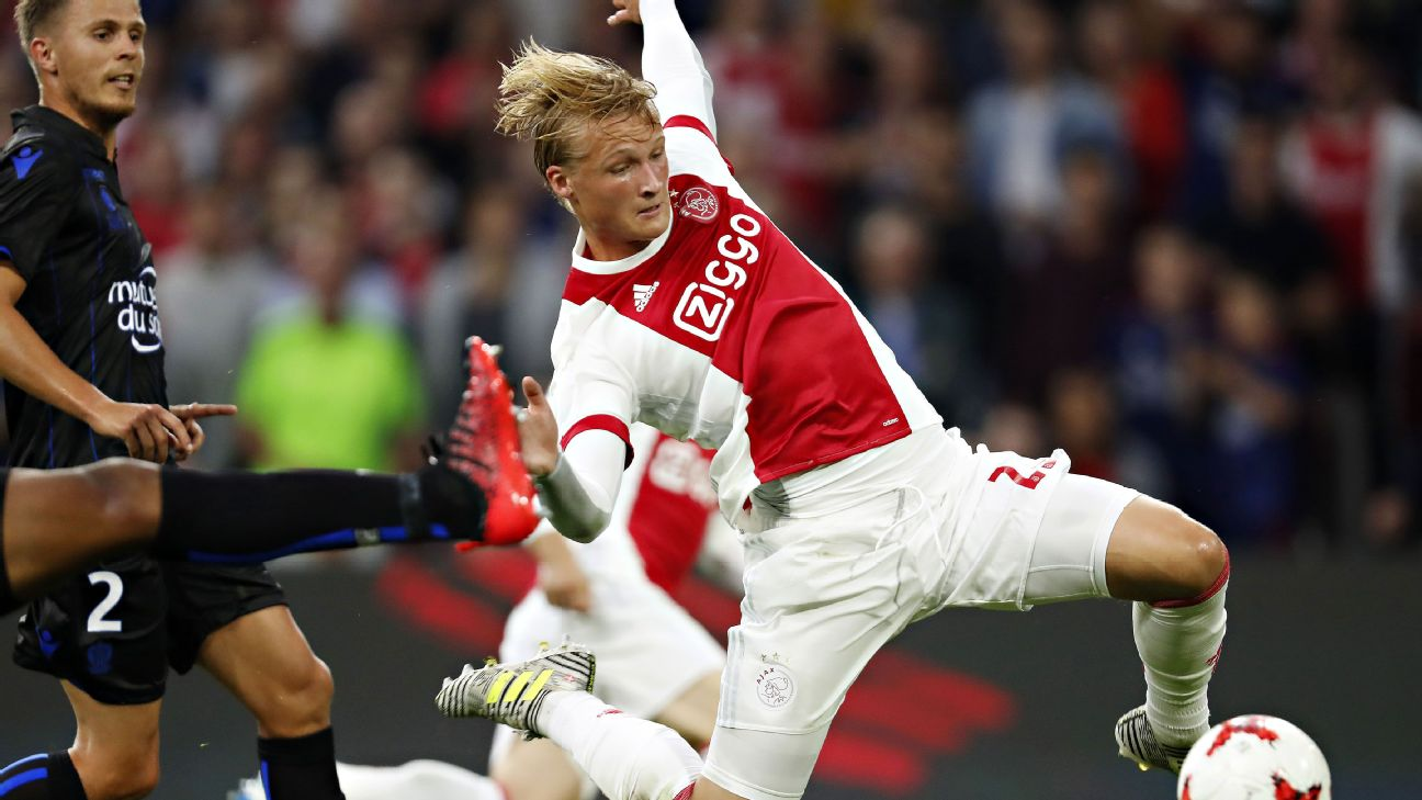 competitive price 11f50 6ffbe Speaking of the Tottenham-to-Ajax pipeline, rumors suggest that Spurs may  be targeting Dolberg to give star striker Harry Kane some help.