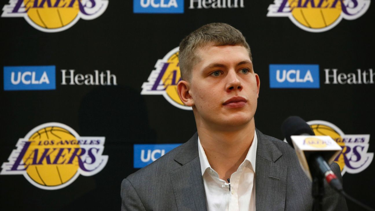 f110cc68369 Lakers sign first-round pick Moritz Wagner | abc7.com
