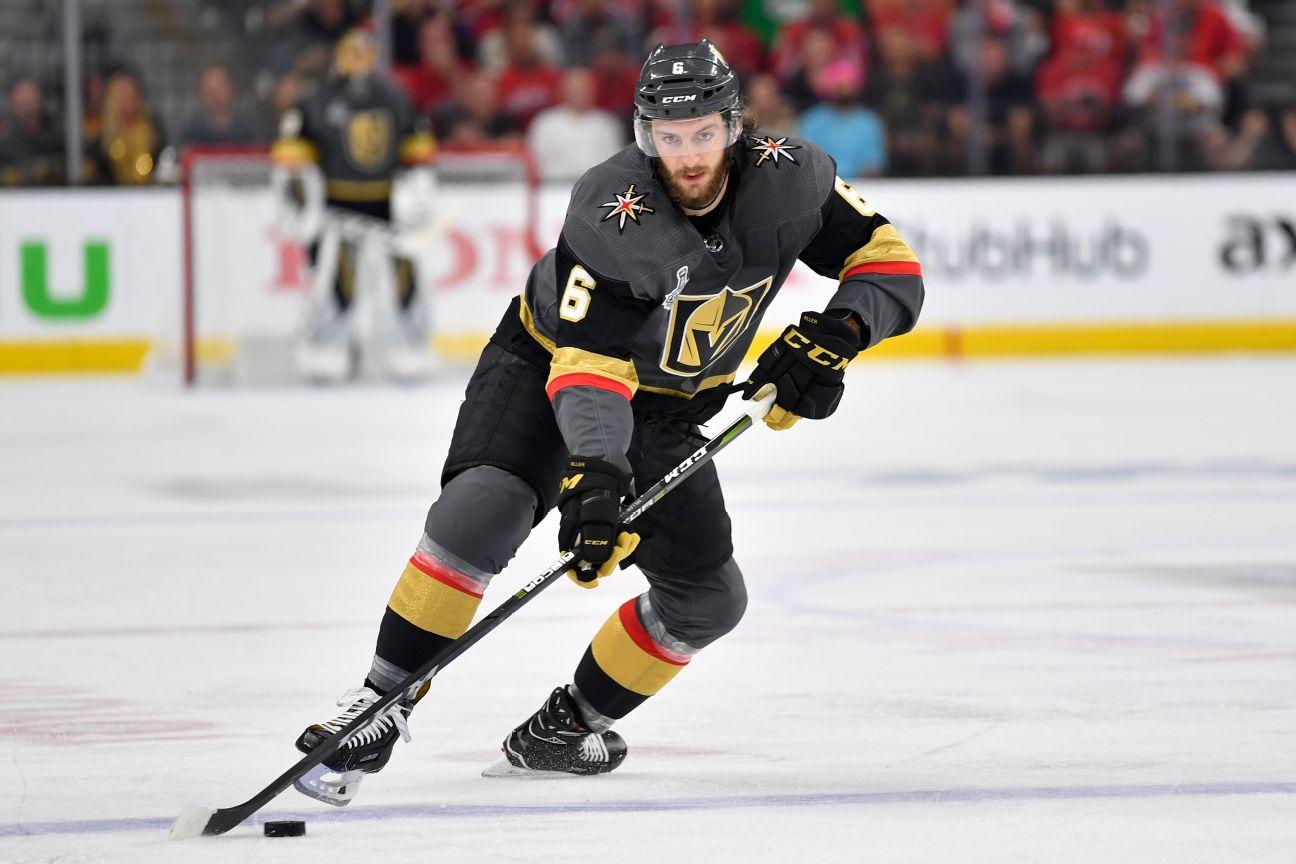 Vegas Golden Knights hockey - Golden Knights News, Scores, Stats