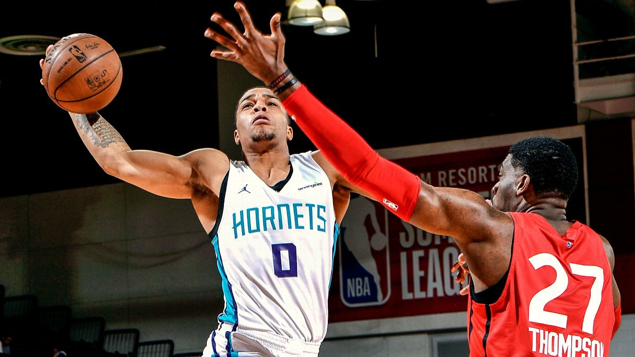 the best attitude 38e1c 496a9 Breaking down Hornets pick Miles Bridges - NBA