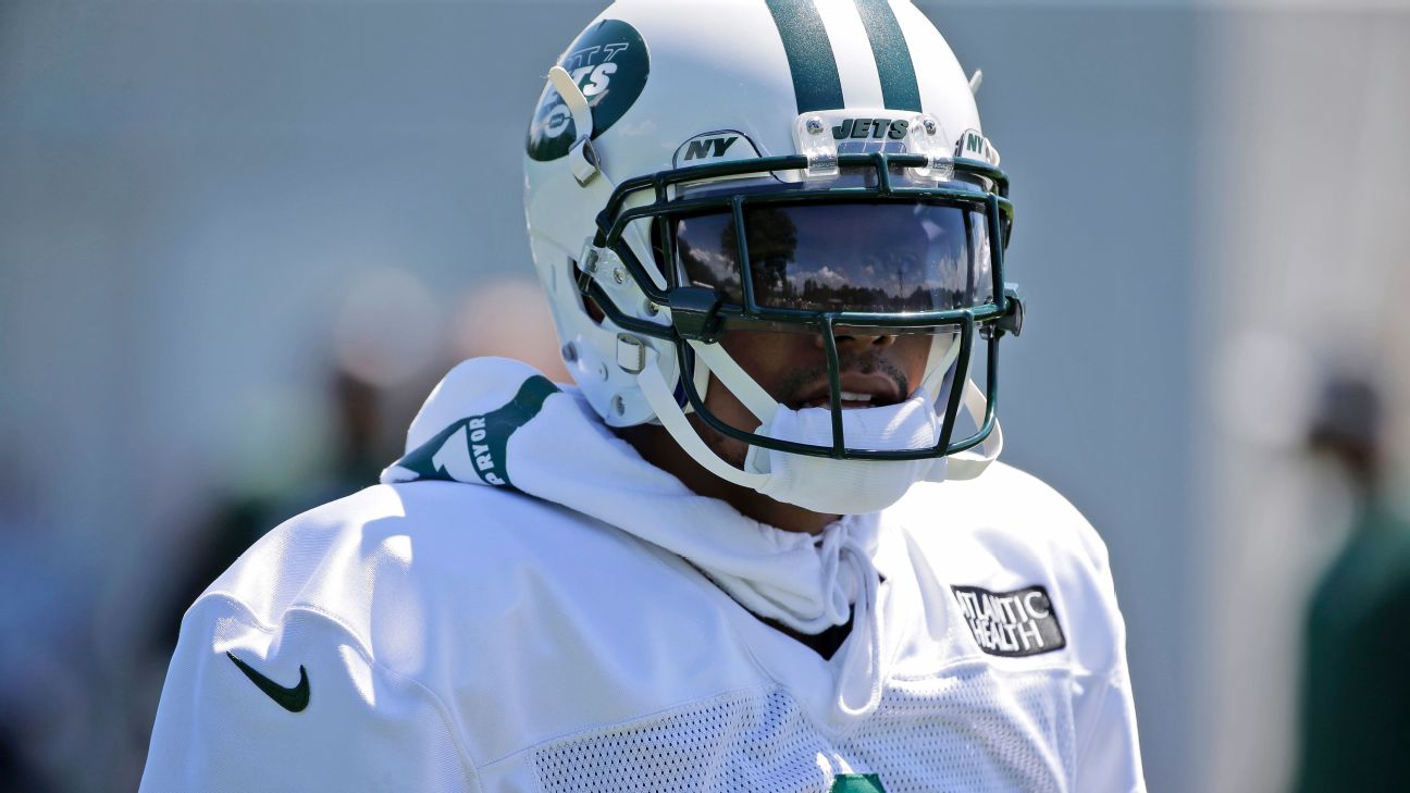 c4e1f2b6987 Jets WR Terrelle Pryor says recovery from fractured ankle will keep ...