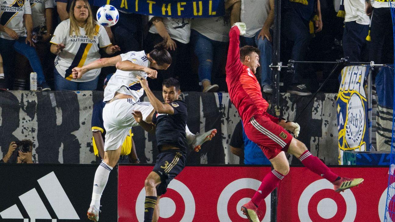 Zlatan Ibrahimovic Scores 499th Career Goal As La Galaxy Draw Lafc Abc30 Fresno