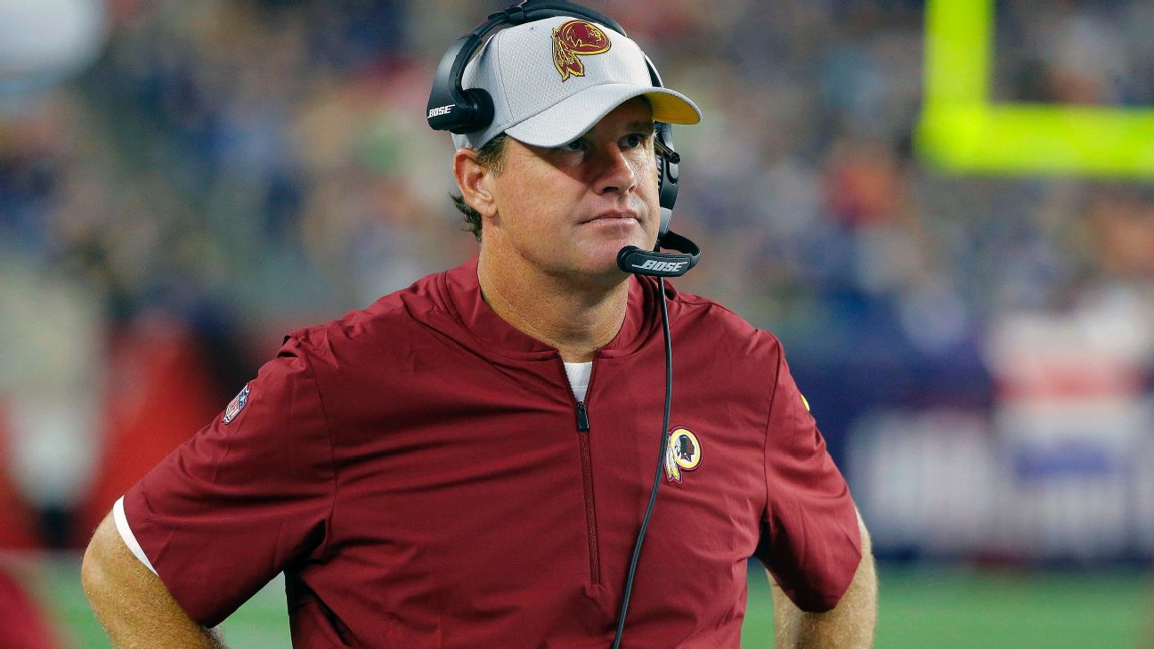 Redskins' Gruden 'numb' to Williams' holdout