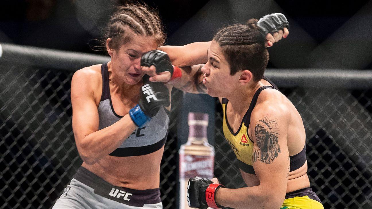 UFC 228 undercard recap - Jessica Andrade vs. Karolina Kowalkiewicz