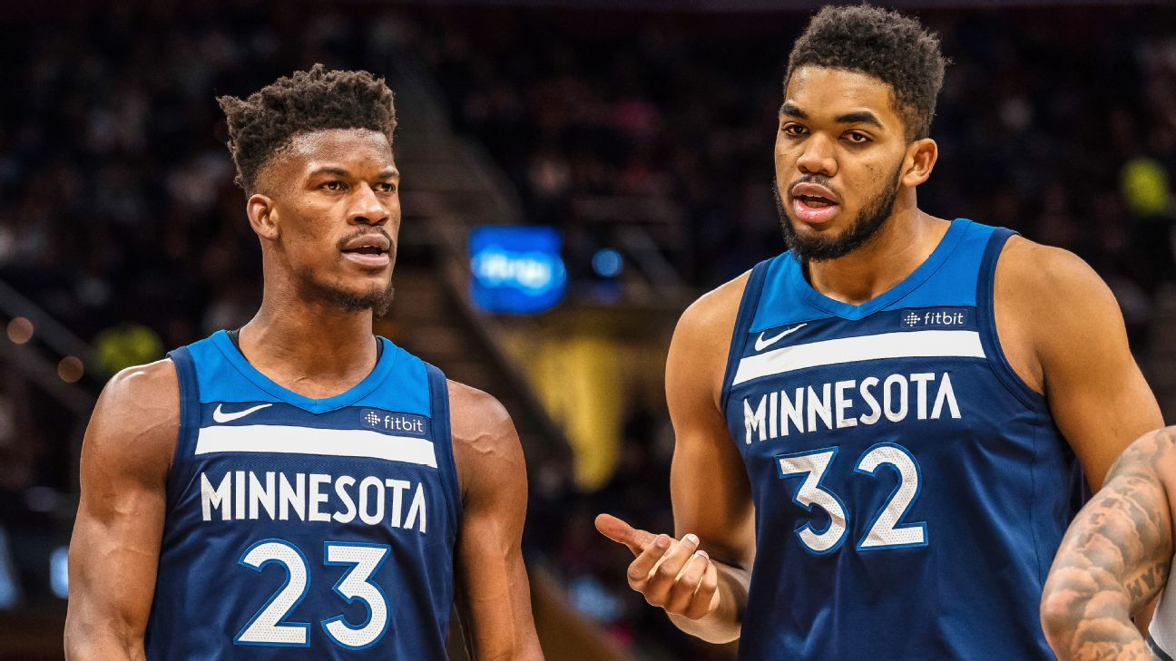 karl towns anthony butler rose jimmy players derrick behind version season espn timberwolves requests trade nba player wildcats kentucky teams