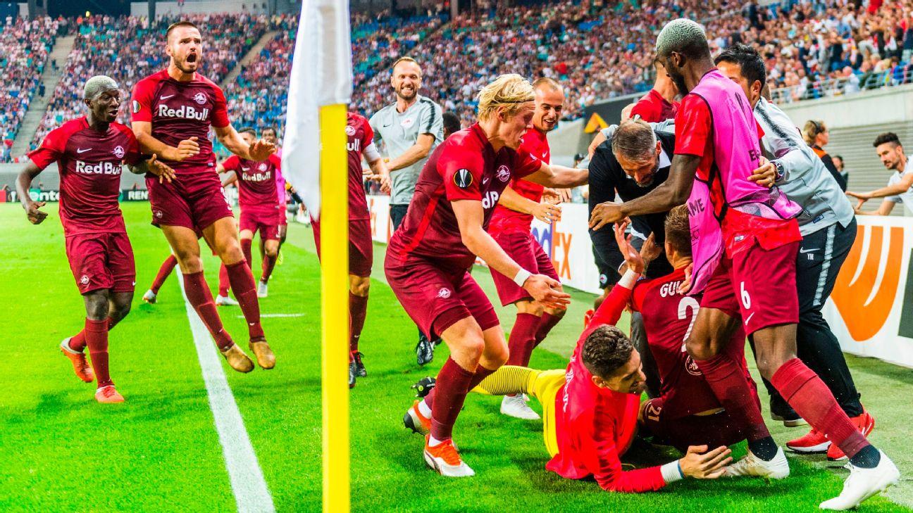 Salzburg Finally Get Their Glory Vs Leipzig In The Red Bull Battle