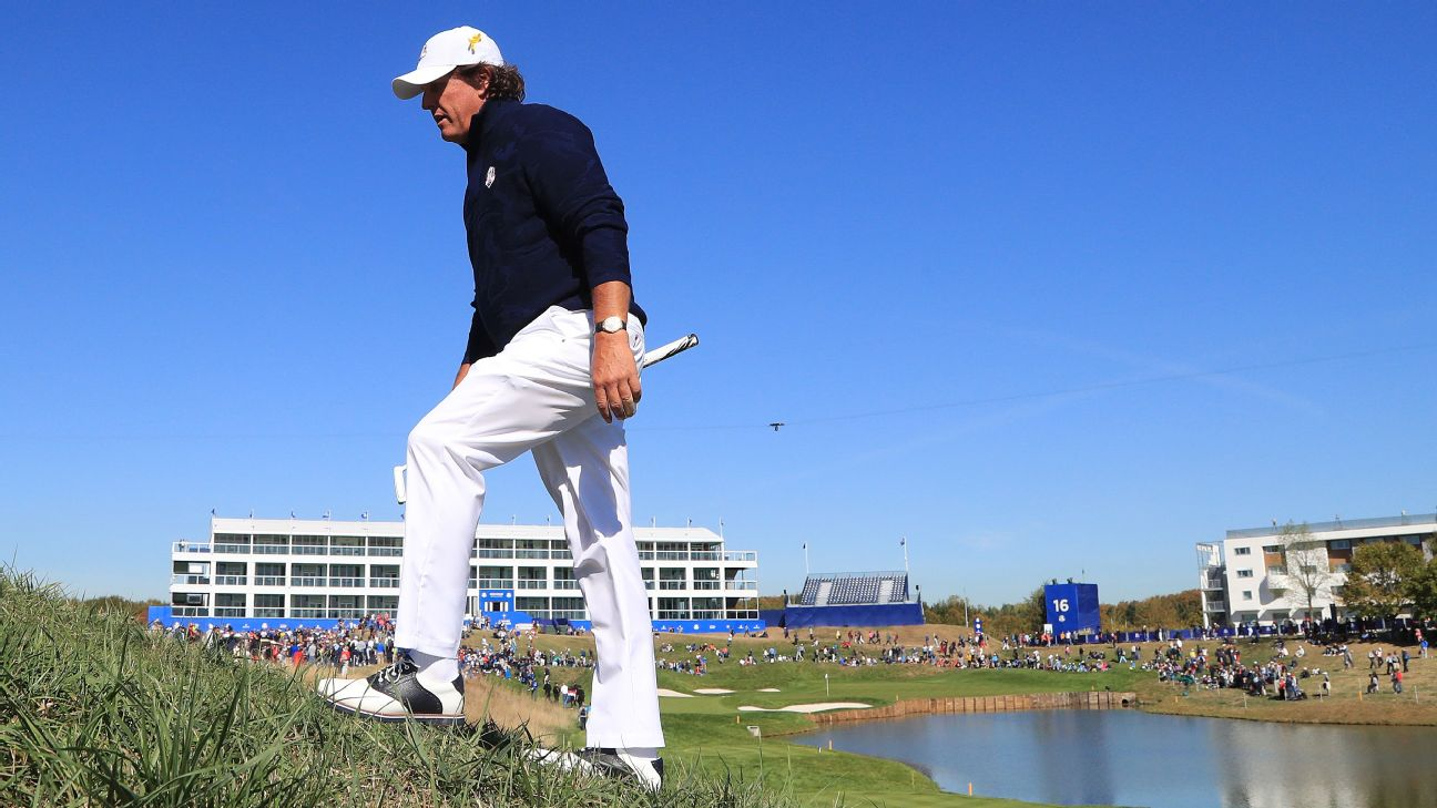 Golf News Scores Players Schedule And Courses Espn Nitro Bmw 2 Way Wiring Diagram Mickelson Ryder Cup Setup Almost Unplayable