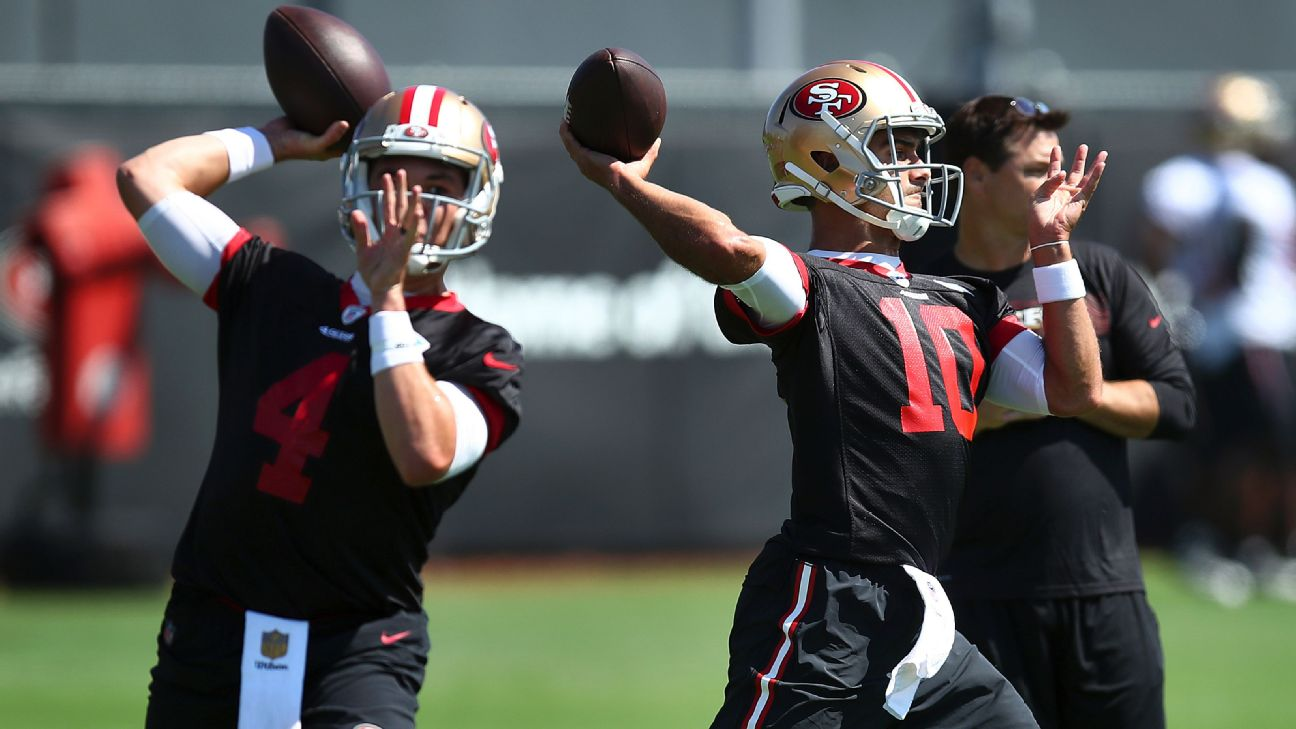 8c877ac2d 49ers promote Nick Mullens to active roster