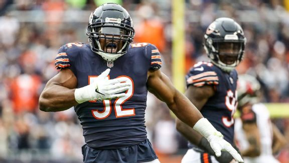 86bf2d46 Opposing quarterbacks have been much less effective under pressure against  the Bears this season compared to last (NFL rank in parentheses).