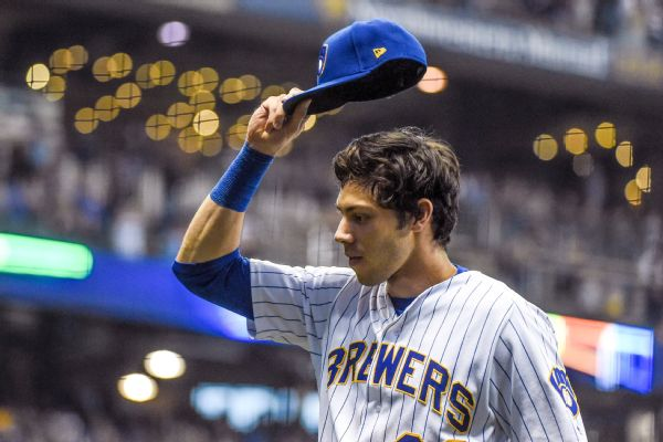 Hot 2nd half propels Brewers  Yelich to NL MVP 6d1d56ba1