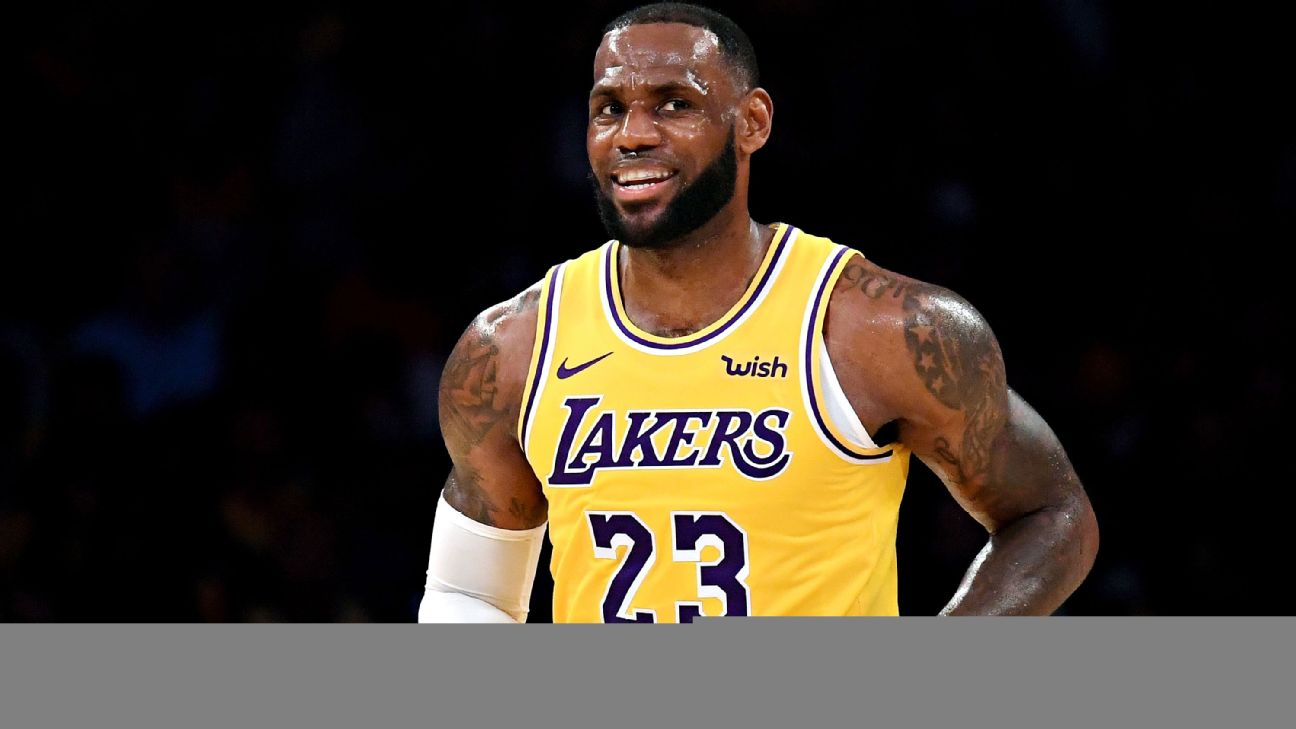 6a2df1bbac7 Lakers rest LeBron James