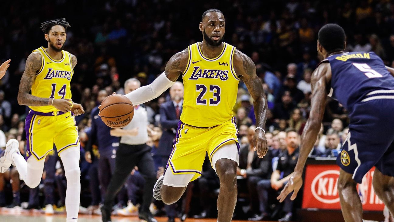 f496a46bedd 5-on-5: Lakers' best lineups and big preseason questions | abc7.com