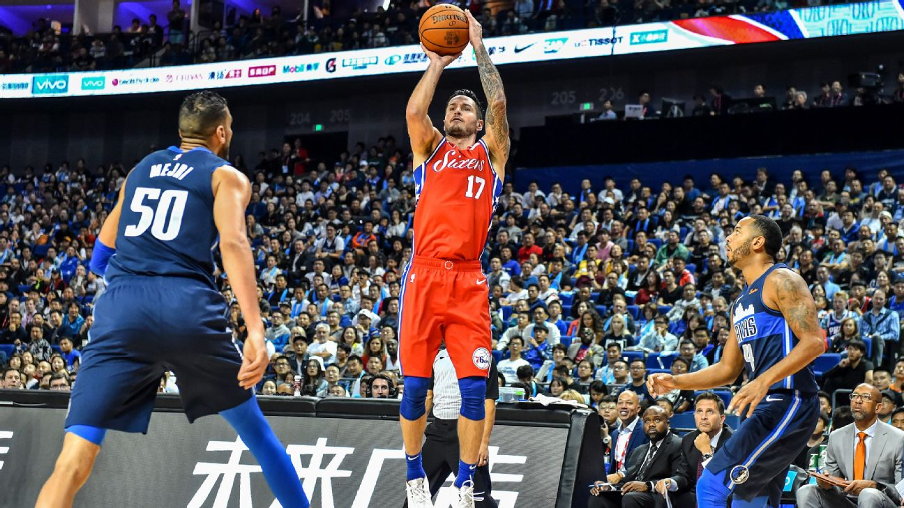 4b2c00c2cfc ... jj redick red sixers jersey