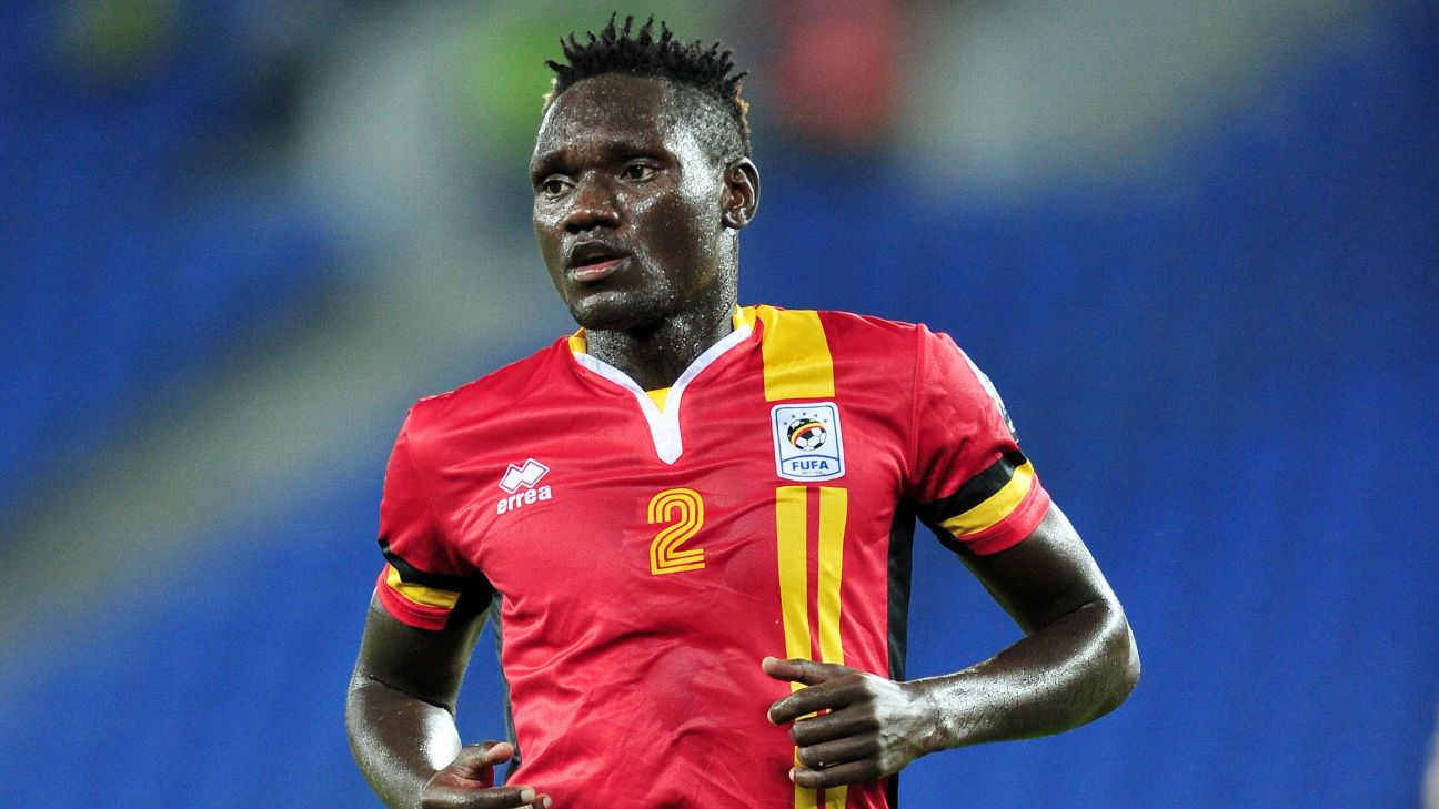 Joseph Ochaya of Uganda signs for TP Mazembe