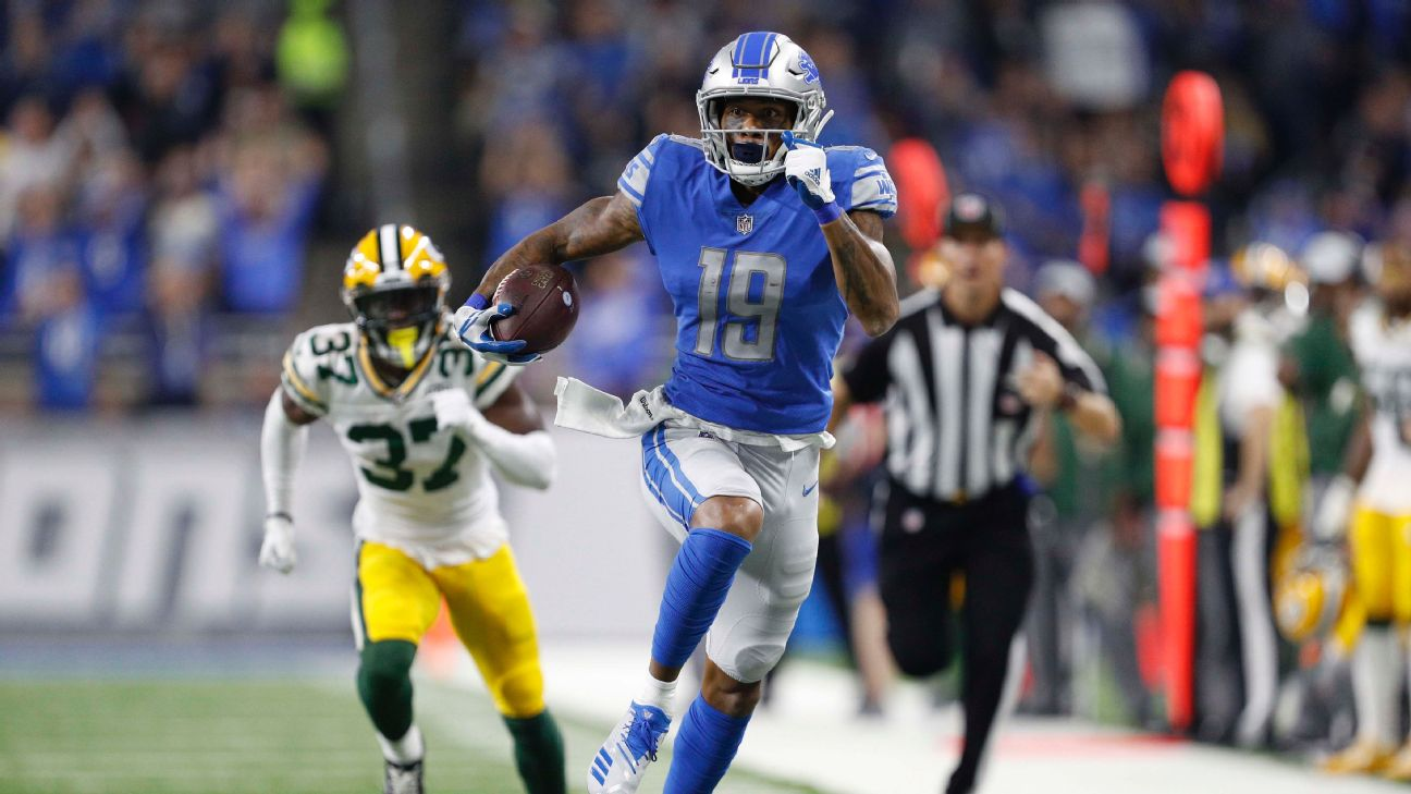 Detroit Lions' Kenny Golladay emerging as all-around threat ...