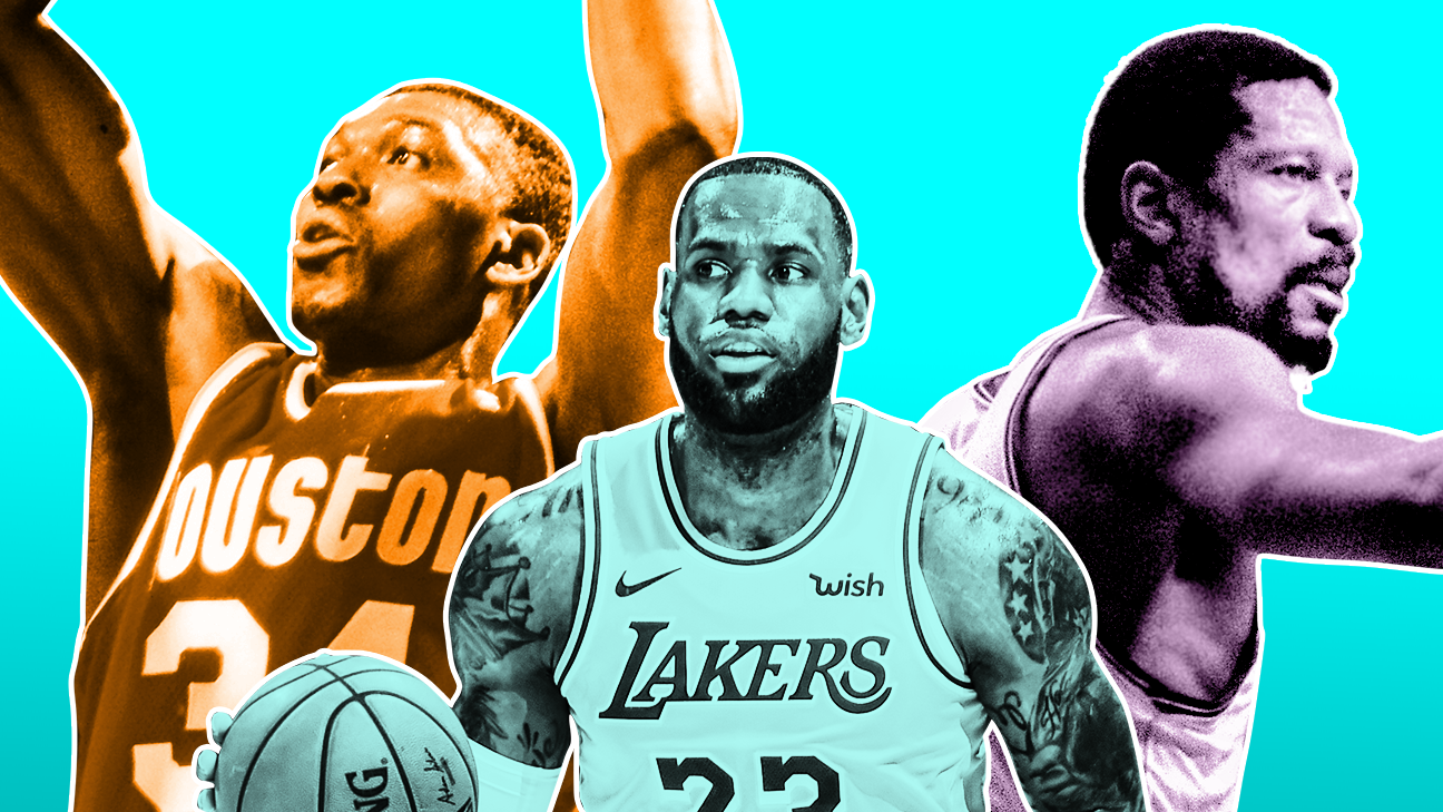 The NBA's best signature moves, from Michael Jordan's