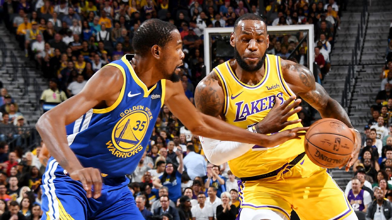 07f359e50beb Kevin Durant says there are challenges to finding a sidekick for Le ...