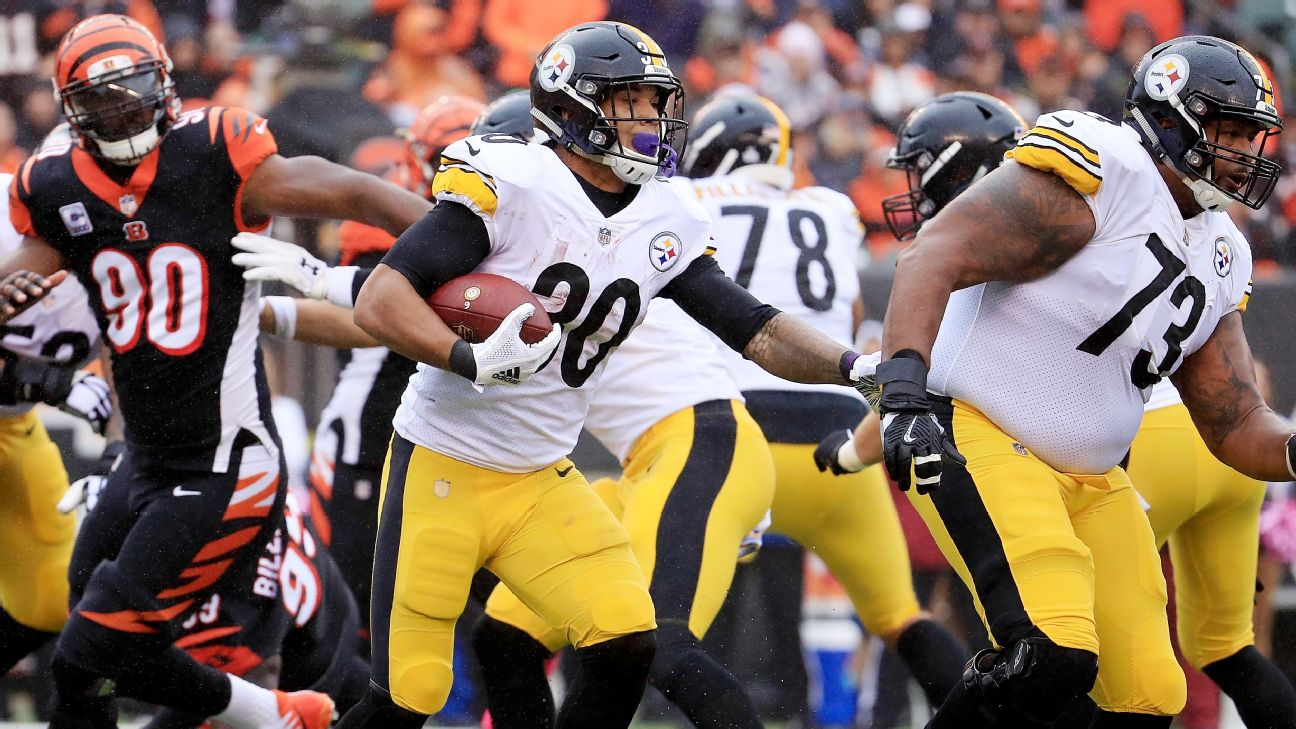 new concept 856c7 0316d Steelers' late-game brilliance breaks Bengals' spirit ...