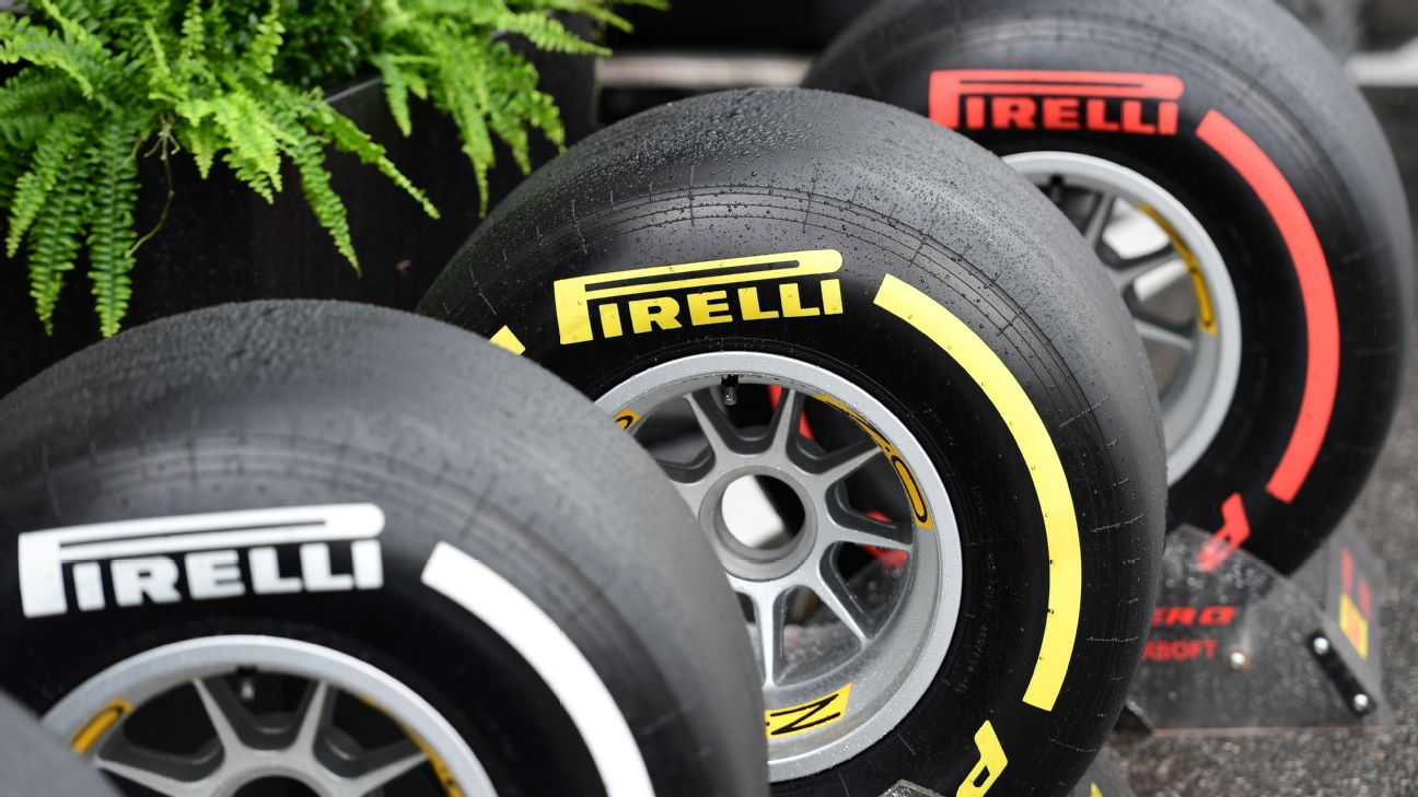 Formula One Tyres To Have Simplified Names Colours In 2019