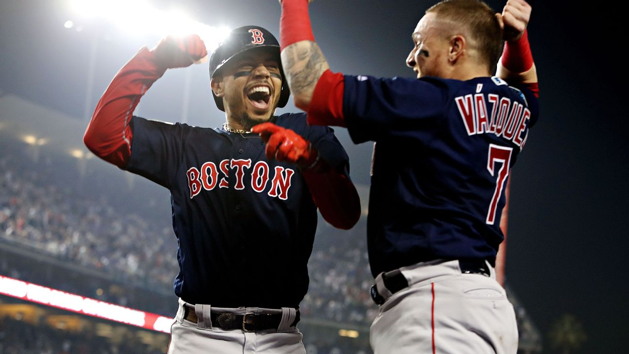 best sneakers cfe93 eb51b David Price, Steve Pearce lead Red Sox to World Series title ...