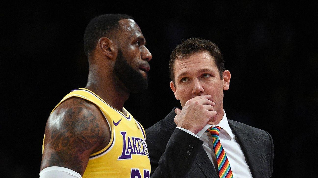 f2ec9b46290 LeBron James  former coach calls Luke Walton  perfect guy  for ...