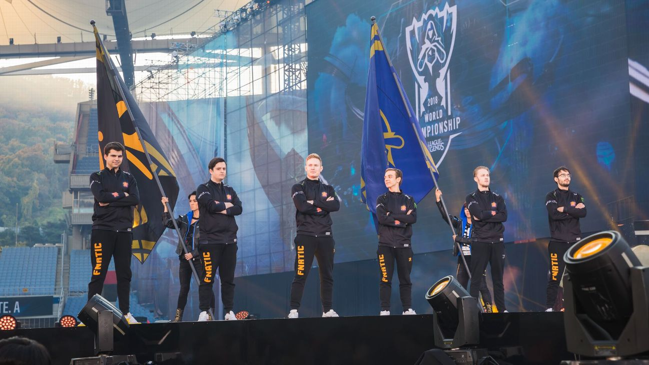 Image result for fnatic 2018 worlds